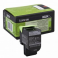 Toner Lexmark 80C20K0, black, 1 k, CX310dn , CX310n , CX410de ,CX410de with 3 year Onsite Service ,
