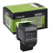 Toner Lexmark 80C2SK0, black, 2.5 k, CX310dn , CX310n , CX410de ,CX410de with 3 year Onsite Service