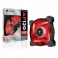 Cooler carcasa Corsair AF120 LED Red Quiet Edition High Airflow, 120x25mm, 3pin, Twin Pack