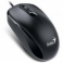Mouse Genius cu fir, optic, DX110, 1000dpi, negru, plug and play, PS2