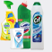 Pachet Dezinfectanti Spray multifunctional Dettol Trigger 500ml+Domestos WC 750ml+CIF cream solutie universala 750ml+Sapun lichid antibacterian Safeguard Classic Pure White, 225 ml