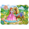 Puzzle 30 piese Princess and her Horse