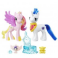 Set figurine family moment princess cadence si shining armor