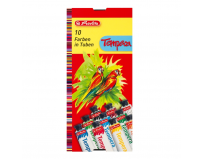 Acuarele Tempera 16ml 10 culori/set