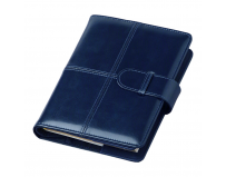 Agenda de Lux cu clapa Bluette 15x21 cm