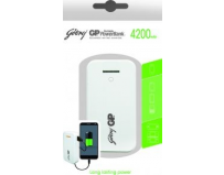 Baterie externa godrej gp powerbank gp541a 4200mah, white (gpxpb541we)