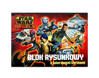 Bloc desen Star Wars Rebels A4.