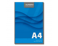 Blocnotes A4 matematica lipit, 100 file - 70g/mp, Aurora Office