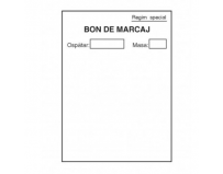 Bon de marcaj, offset, A6, 55 g/mp, 50 file
