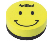 Burete magnetic, pentru table magnetice de scris ARTLINE Smiley