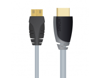 Cablu  date  hdmi plus mini (t) la hdmi (t),  1.0m, black (sxv1501)