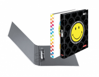 Caiet mecanic A4 2 inele Smiley World diverse modele