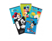 Caiet tip 2, A5, 24 file, Mickey Mouse, Pigna.