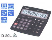 Calculator de birou Casio D20L