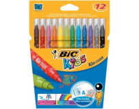Carioci 12 culori ultralavabile Kid Couleur Bic