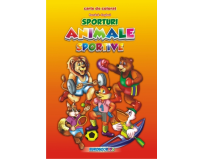 Carte de colorat Sporturi Animale Sportive