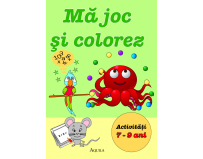 Carte educativa si de colorat, Ma joc si colorez, 7-9 ani, Aquila