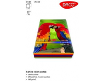 Carton color A4 250 coli 5 cul. DACO 160G/mp