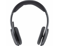 Casca logitech h800 wireless headset, nano receiver, bluetooth, 2.4ghz,rechargable battery, foldable design, usb 2.0, black  (981-000338)