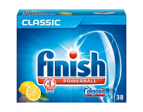 Detergent de vase tablete, 38 buc, Finish Powerball