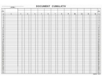 Document cumulativ, offset, A3, 55 g/mp, 50 file