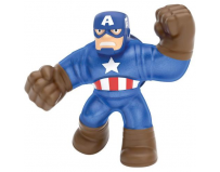 Figurina marvel heroes of goo jit zu captain america