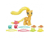 Figurina My Little Pony coafuri de gala - applejack