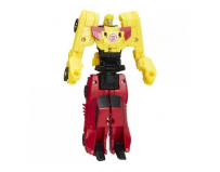 Figurine Transformers - Crash Combiners - Sideswipe vs Bumblebee