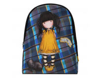 Gorjuss Rucsac fashion Tartan Ruby
