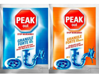 Granule desfundat tevi Peak Out 80 g