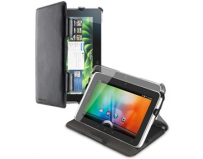 "Husa galaxy tab 3 p3200 7"", stand, 2 unghiuri de inclinare, piele ecologica, black (visiongtab3p3200bk)"