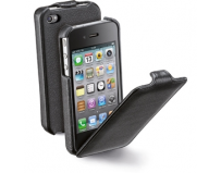Husa iphone 4, flap, black (flapiphone4bk)