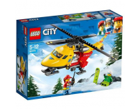 Lego city elicopterul ambulanta 60179