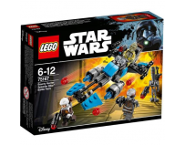 Lego star wars motocicleta de viteza bounty hunter 75167