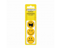 Magnet plat 30 milimetri, Smiley World, Herlitz.
