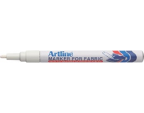 Marker Artline for Fabric, pentru marcat pe material textil, corp metalic, varf rotund, 1.2 mm