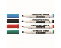 Set 4 markere whiteboard, 2.5 mm, diverse culori, Centropen 8559