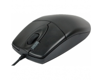 Mouse a4tech ps2 optic (op-620d-b), wired cu 4 butoane (buton 2xclick) si 1 rotita scroll, rezolutie sub 1000dpi, negru