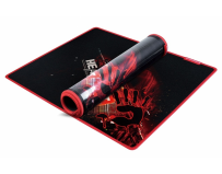 Mouse pad gaming, 275x225mm, panza si cauciuc, grosime 4mm, a4tech bloody b-072