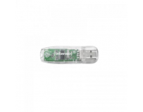 USB Flash Drive INTENSO, 32GB, Rainbow Line, USB 2.0, Transparent