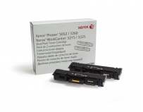 Toner Xerox 106R02782, black, 6 k, Phaser 3052,3260, WorkCentre3215,3225