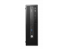 Desktop HP EliteDesk 705 G2 Microtower, AMD A10-8750 Quad Core (3.6GHz ,up to 4GHz, 4MB), video dedicat
