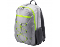 HP 15.6 Active Backpack, Grey & Neon Yellow