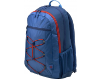 HP 15.6 Active Backpack, Marine Blue & Coral Red