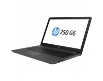 Laptop HP 250 G6, 15.6 inch LED HD Anti-Glare (1366x768), Intel Pentium N3710 Quad Core (1.6GHz, up
