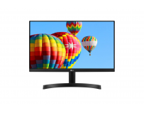 "Monitor 23.8"" LG 24MK600M-B, FHD 1920*1080, IPS, 16:9, 5 ms, 250 cd/m2, 1000:1, 178/178, anti-glare"