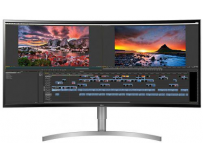 "Monitor 37.5"" LG 38WK95C-W, Curved, WQHD+ 3840*1600, IPS, HDR 10, 5 ms, 300 cd/m2, 1000:1, 178/178,"