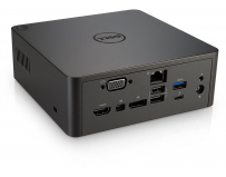 Docking Station Dell Thunderbolt TB16 180W, Networking Gigabit Ethernet, Power adapter - External 180
