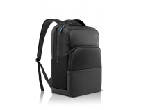 Dell Pro Backpack 17, Zippered, water resistant, foam padding, EVA padding, Hand grip, trolley strap,