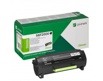 Cartus toner Lexmark 56F2000, 6 k, black, return program, MS321dn / MS421dn / MS421dw / MS521dn / MS621dn